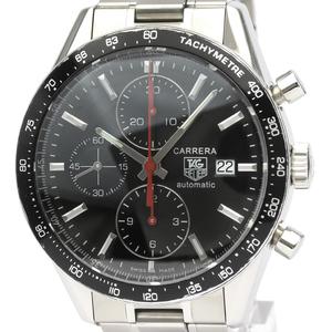 TAG HEUER Carrera Chronograph Steel Automatic Mens Watch CV2014