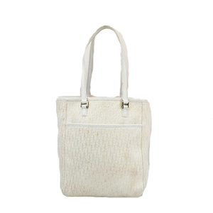 Christian Dior Trotter Tote Bag Women's Canvas Tote Bag Ivory