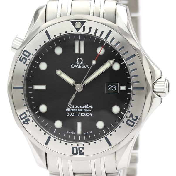 Omega Seamaster Quartz Stainless Steel Men's Sports Watch 2261.50