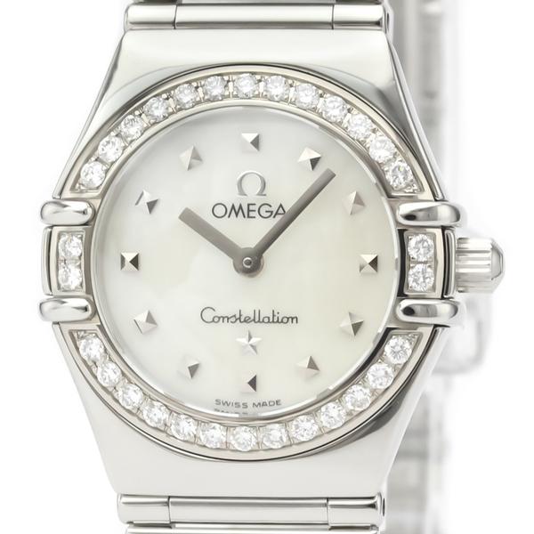Omega Constellation Quartz Stainless Steel Women's Dress Watch 1465.71