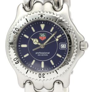 Tag Heuer Sel Quartz Stainless Steel Men's Dress Watch WG111A