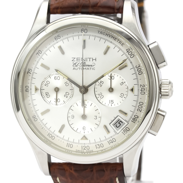 Zenith Class Automatic Stainless Steel Men's Sports Watch 01.0500.400