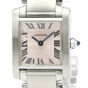 カルティエ(Cartier) タンクフランセーズ クォーツ ステンレススチール(SS) レディース ドレスウォッチ W51035Q3