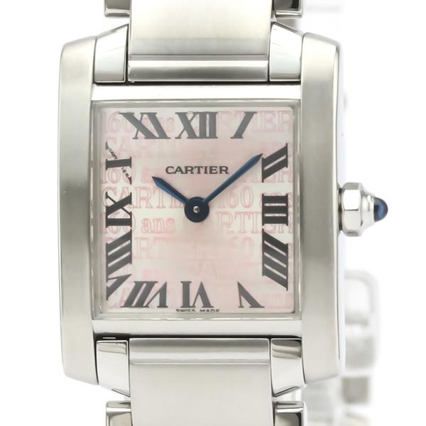 Cartier Tank Francaise Quartz Stainless Steel Women's Dress Watch W51035Q3