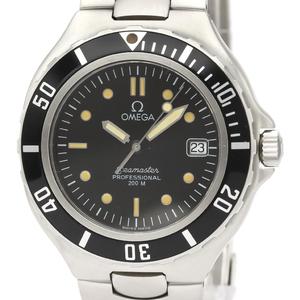 Omega Seamaster Quartz Stainless Steel Men's Sports Watch 396.1052