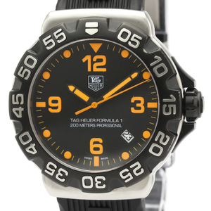 Tag Heuer Formula 1 Quartz Stainless Steel Men's Sports Watch WAH1116