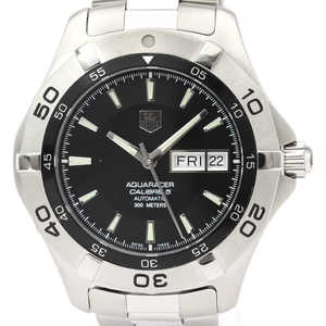 Tag Heuer Aquaracer Automatic Stainless Steel Men's Sports Watch WAF2010