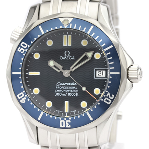 Omega Seamaster Automatic Stainless Steel Men's Sports Watch 2551.80