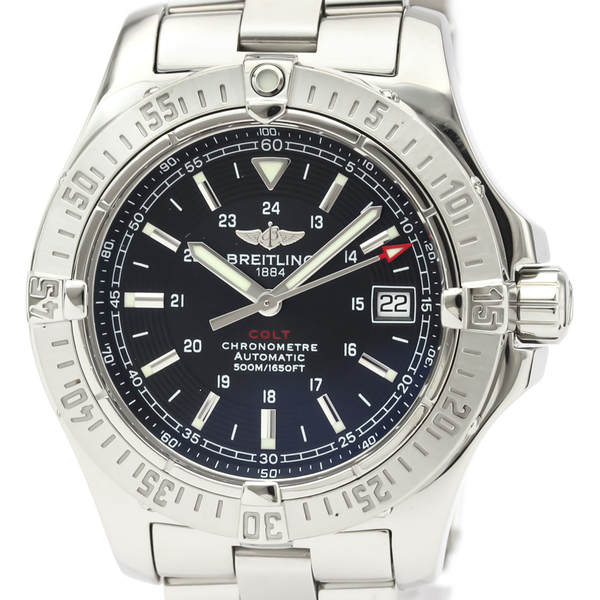 BREITLING Colt Stainless Steel Automatic Mens Watch A17380