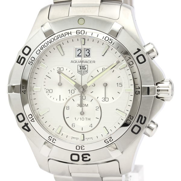 Tag Heuer Aquaracer Quartz Stainless Steel Men's Sports Watch CAF101F