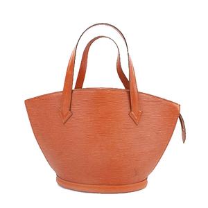 Auth Louis Vuitton Epi Saint Jacques M52273 Women's Shoulder Bag Kenyan Brown