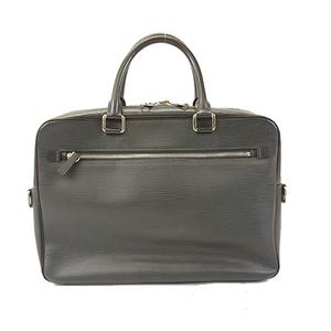Auth Louis Vuitton Epi Porto Documan Business M54041 Men's Briefcase Blue Nuit