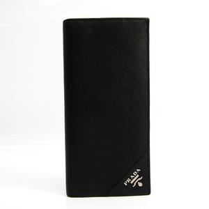 プラダ(Prada) Saffiano ユニセックス Saffiano 長財布(二つ折り) ブラック