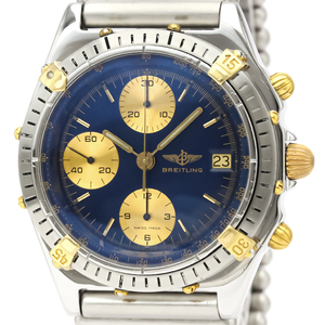 Breitling Chronomat Automatic Stainless Steel,Yellow Gold (18K) Men's Sports Watch B13047