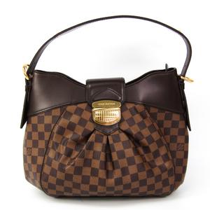 ルイ・ヴィトン(Louis Vuitton) ダミエ システィナMM N41541 レディース ショルダーバッグ エベヌ