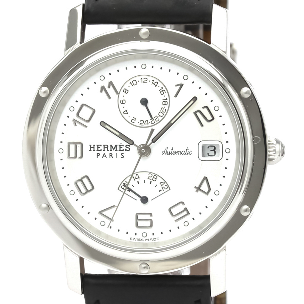 エルメス(Hermes) クリッパー 自動巻き ステンレススチール(SS) メンズ スポーツウォッチ CL2.810