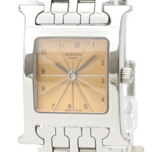 エルメス (HERMES) Hウォッチ ステンレススチール クォーツ レディース 時計 HH1.210