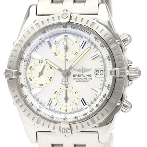 BREITLING Chronomat MOP Dial Steel Automatic Watch A13352