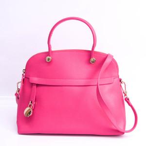 Furla Piper M Women's Leather Handbag,Shoulder Bag Pink