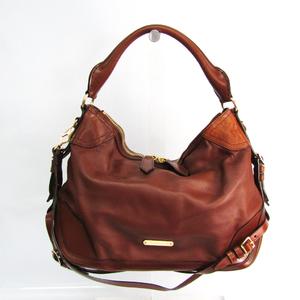Burberry 3870164 Women's Leather Shoulder Bag,Tote Bag Dark Brown