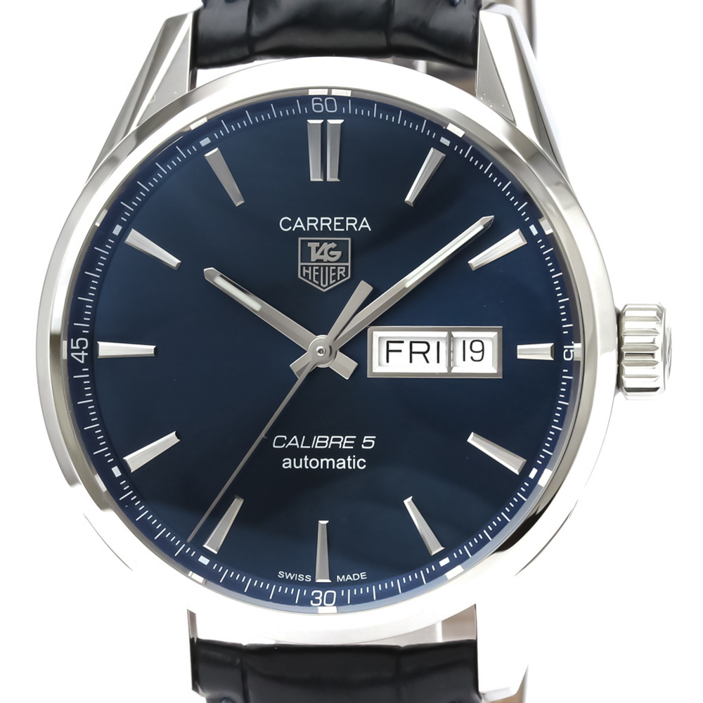 Tag Heuer Carrera Automatic Stainless Steel Men's Sports Watch WAR201E