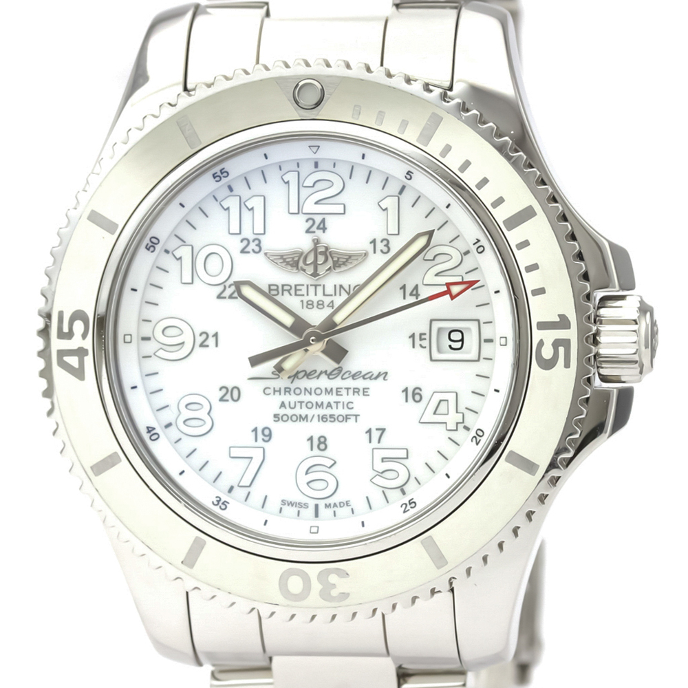Breitling Superocean II Automatic Stainless Steel Men's Sports Watch A17365