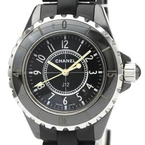 【CHANEL】シャネル J12セラミック ラバー クォーツ レディース 時計 H0681