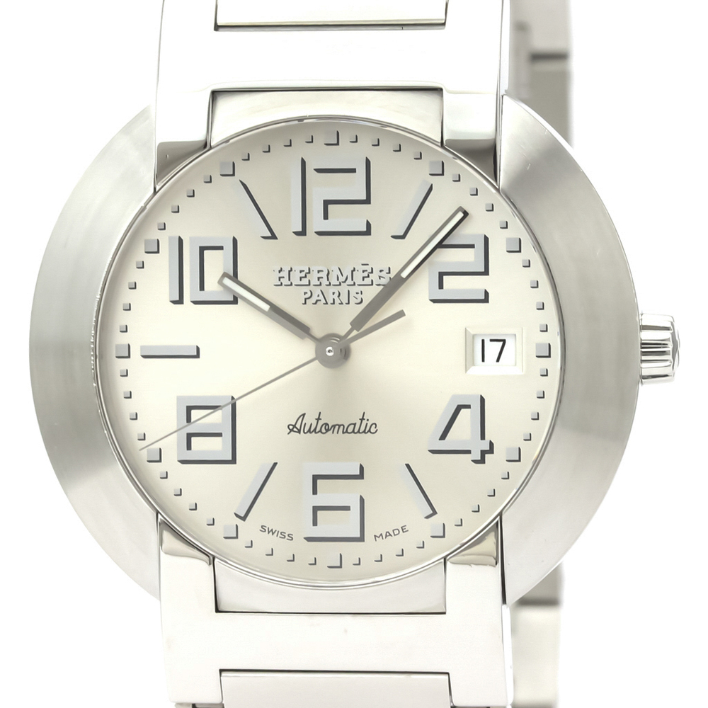 Hermes Nomade Automatic Stainless Steel Men's Dress Watch NO3.810
