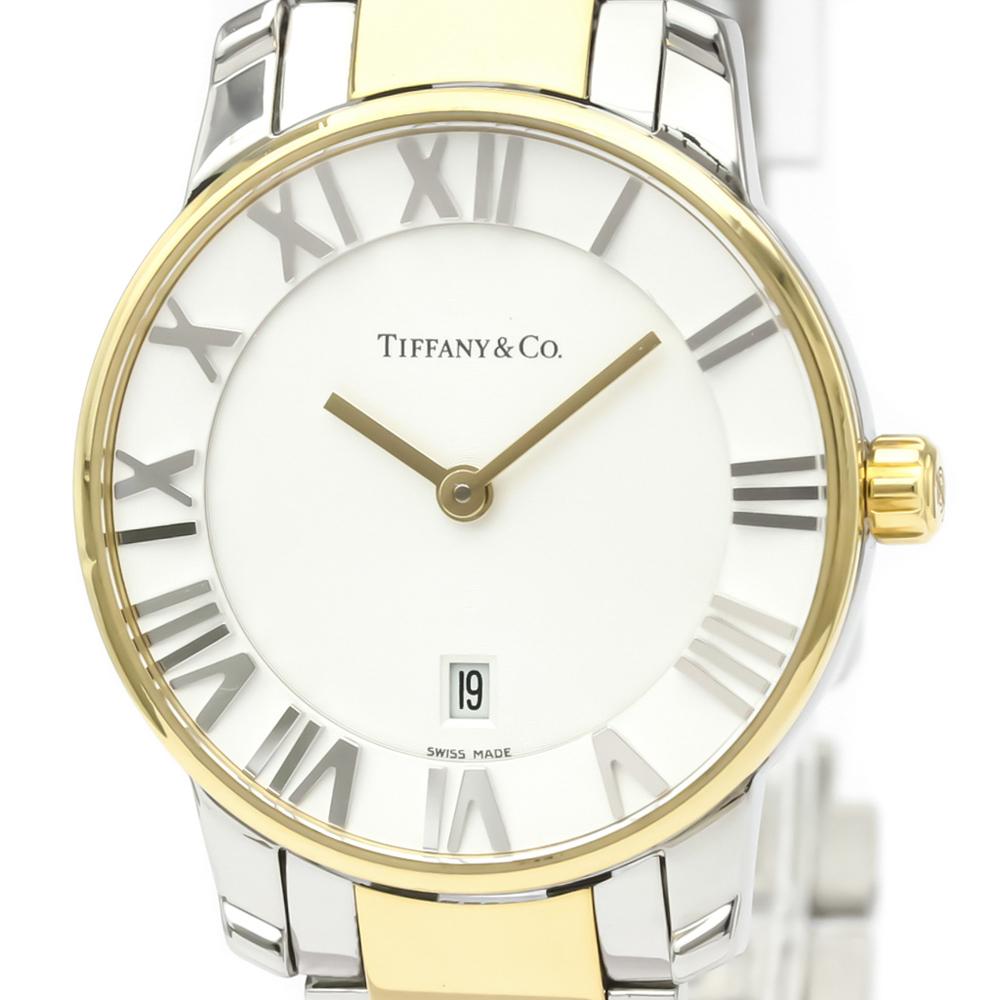 Tiffany Atlas Quartz Gold Plated,Stainless Steel Women's Dress Watch Z1830.11.15A21A00A