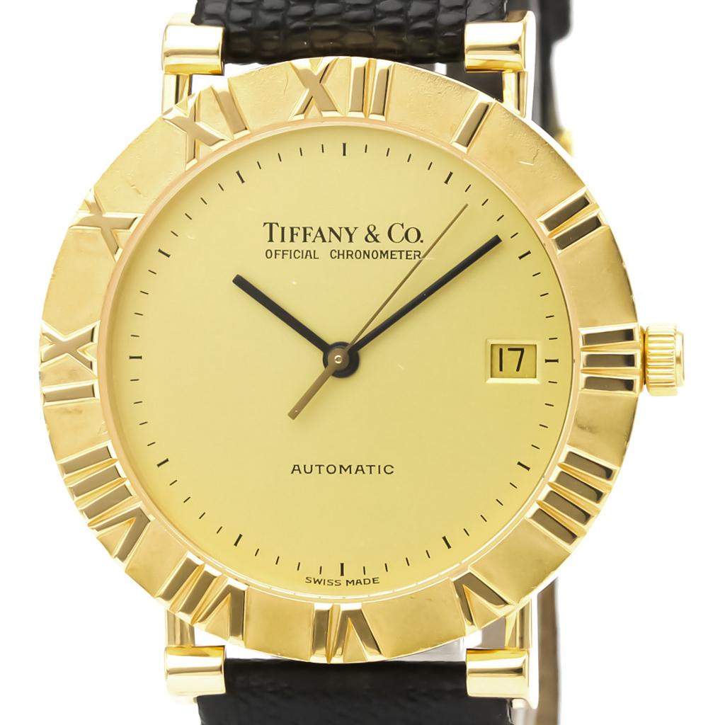 ティファニー(Tiffany) アトラス 自動巻き K18イエローゴールド(K18YG) メンズ ドレスウォッチ M6930