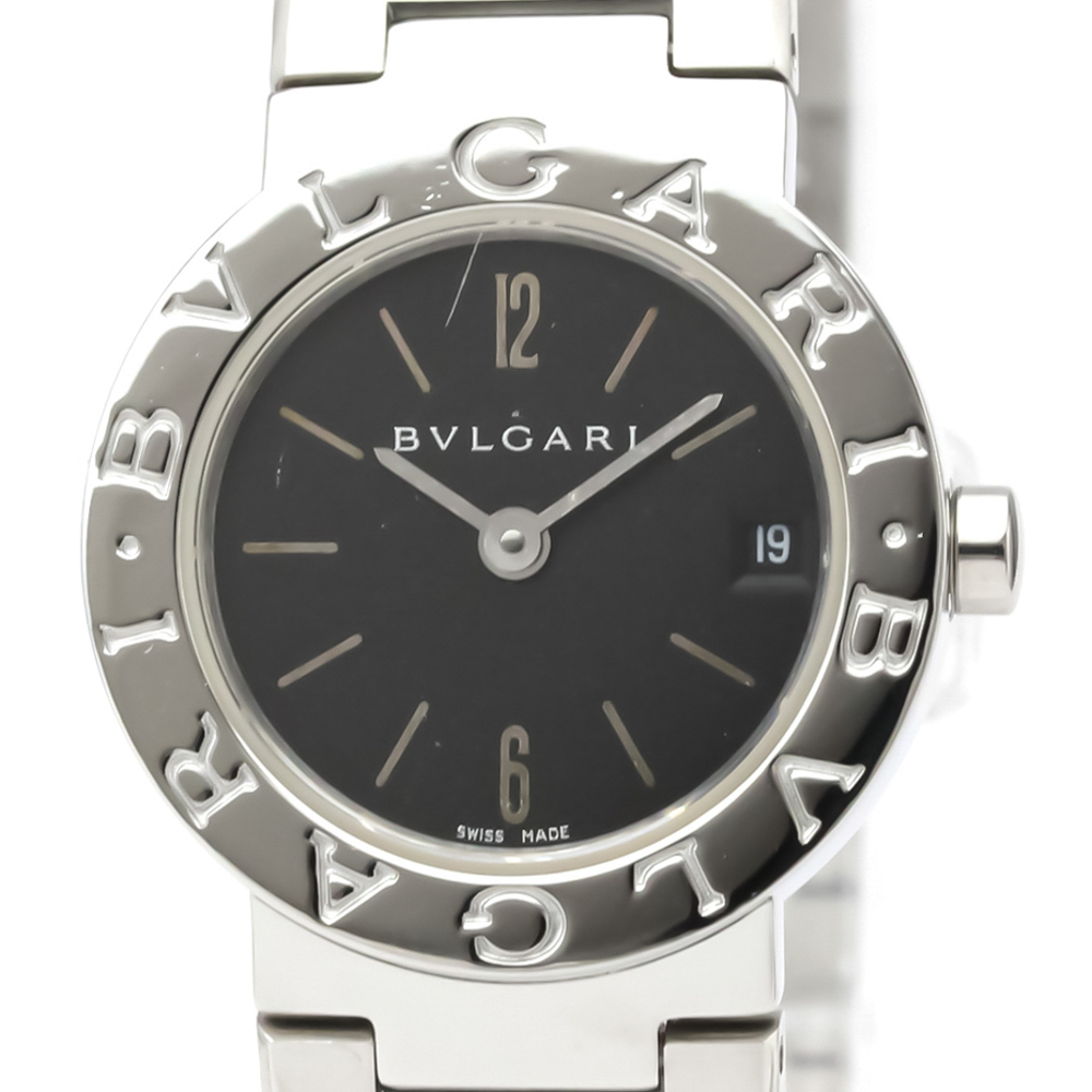 BVLGARI BVLGARI-BVLGARI Steel Quartz Ladies Watch BB23SS