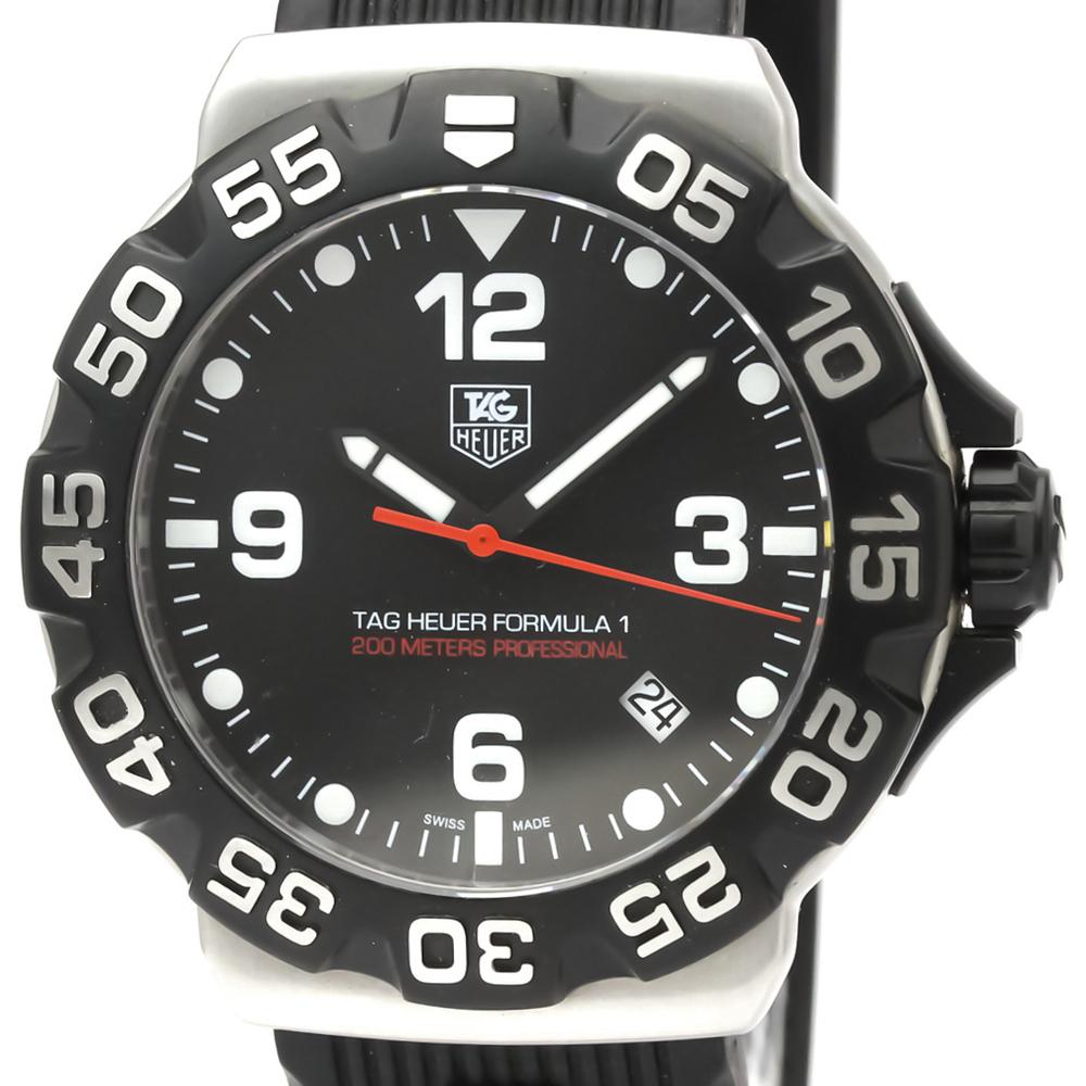 Tag Heuer Formula 1 Quartz Stainless Steel Men's Sports Watch WAH1110