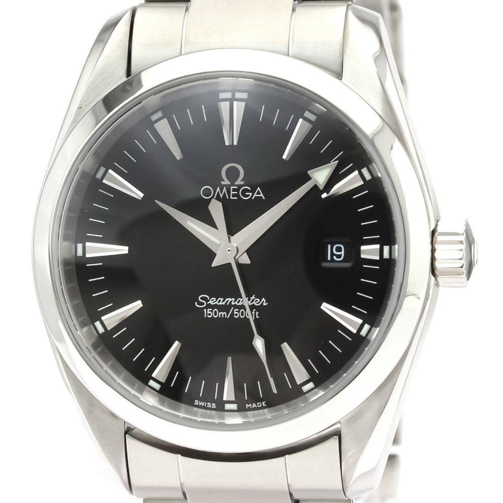 OMEGA Seamaster Aqua Terra Steel Quartz Mens Watch 2518.50