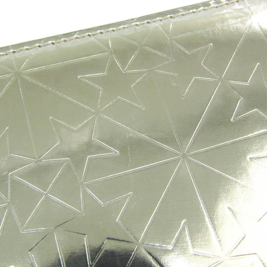 ジミー・チュウ(Jimmy Choo) カーナビー グラフィックスター レディース レザー 長財布(二つ折り) メタリックブロンズ