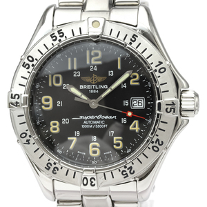 BREITLING Superocean Steel Automatic Mens Watch A17040