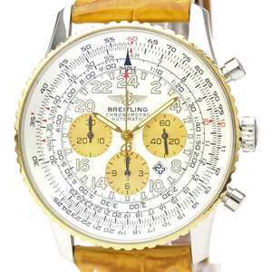 Breitling Navitimer Automatic Yellow Gold (18K),Stainless Steel Men's Sports Watch D22322