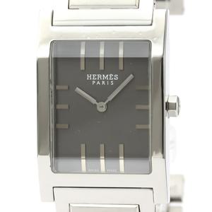 【HERMES】エルメス タンデム ステンレススチール クォーツ メンズ 時計 TA1.710
