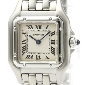 Cartier Panthere De Cartier Quartz Stainless Steel Women's Dress Watch W25033P5