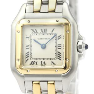 Cartier Panthere De Cartier Quartz Stainless Steel,Yellow Gold (18K) Women's Dress Watch -