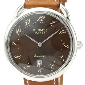 エルメス(Hermes) アルソー 自動巻き ステンレススチール(SS) メンズ ドレスウォッチ AR4.810