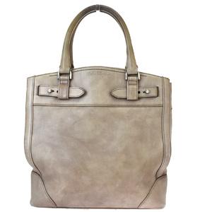 Salvatore Ferragamo Leather Handbag Khaki