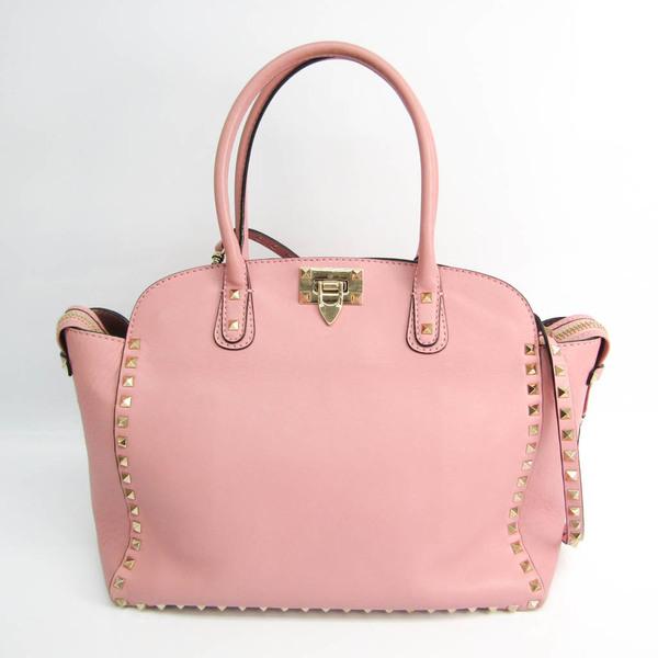 Valentino Garavani EWB00441-ABOL01 Women's Leather Handbag,Shoulder Bag Pink