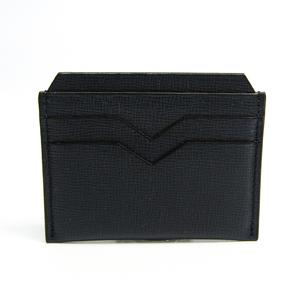 ヴァレクストラ(Valextra) V8L77 レザー カードケース ネイビー