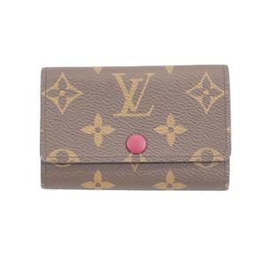 Auth Louis Vuitton Monogram Multikre 6 M60701 Women's  Key Case