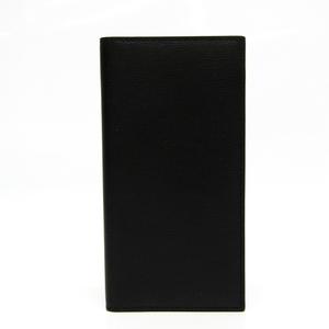 ヴァレクストラ(Valextra) ユニセックス レザー 長札入れ(二つ折り) ブラック