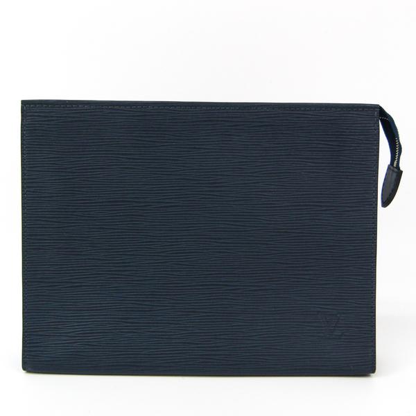 Louis Vuitton Epi Toiletry Pouch 26 M41367 Unisex Pouch Indigo