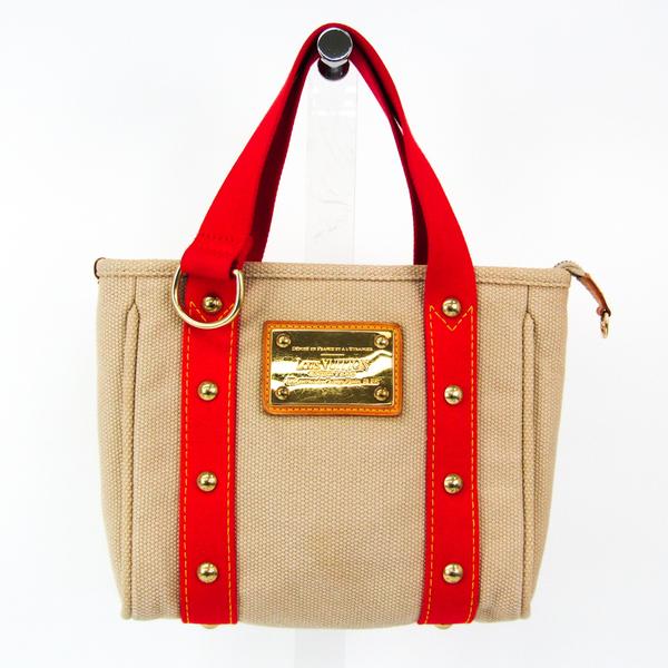 Louis Vuitton Antigua Cabas PM M40038 Tote Bag Beige
