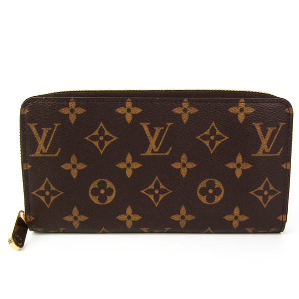 Louis Vuitton Monogram Zippy Wallet M60017 Unisex Monogram Long Wallet (bi-fold) Monogram