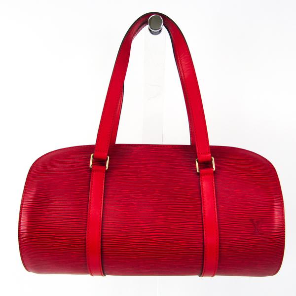 Louis Vuitton Epi SUFLO M52227 Handbag Castilian Red