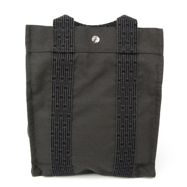 Hermes Her Line Backpack PM Unisex Polyamide,Polyester Backpack Black,Gray